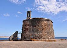 Lanzarote Yaiza Torre de las Coloradas o del Aguila
