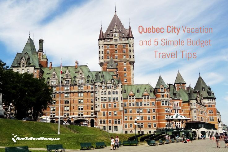 Travelling is expensive. Luckily, there are ways to travel on budget. Here are 5 simple things we did while vacationing in Quebec City.