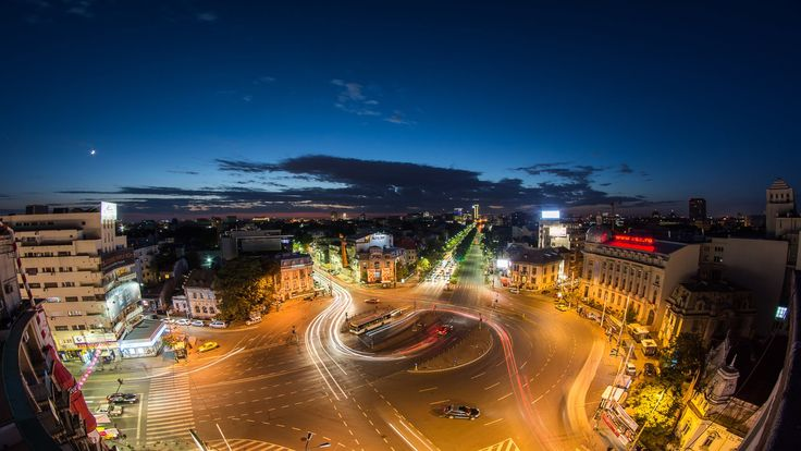 Bucharest - The City Rush (timelapse by Eduard Gutescu)