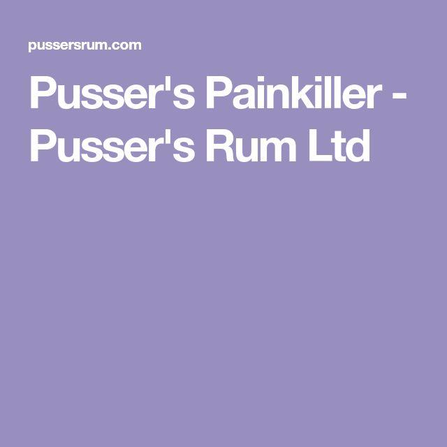 Pusser's Painkiller - Pusser's Rum Ltd