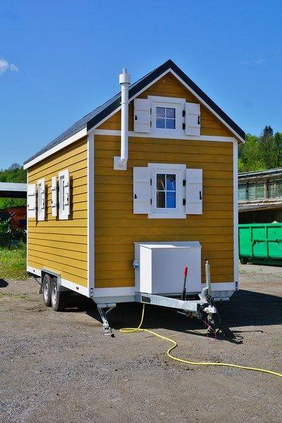 Tiny house sur roue créole