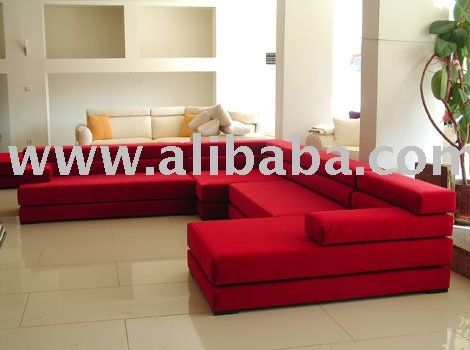 Lego L Corner Red Living Room Set   Buy Living Room Set Product On  Alibaba.com