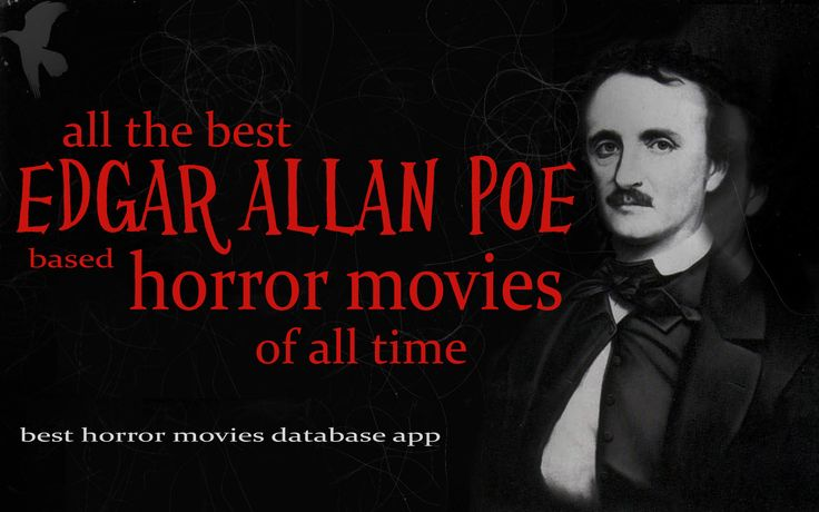 For all the top rated Edgar Allan Poe based horror movies do a search with the keyword Edgar Allan Poe  Google Play App Store: https://play.google.com/store/apps/details?id=com.besthorrormovies  iTunes: https://itunes.apple.com/us/app/best-horror-movies-database/id668500290?mt=8   #horrormovies #scarymovies #horror #horrorfilms #edgarallanpoe #ilovehorrormovies #app #horrormoviesapp #horrormovieapp #iphone #bestapps #android