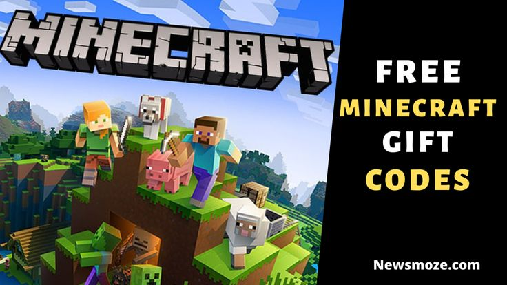 Free minecraft gift codes 2020 list in 2020 minecraft