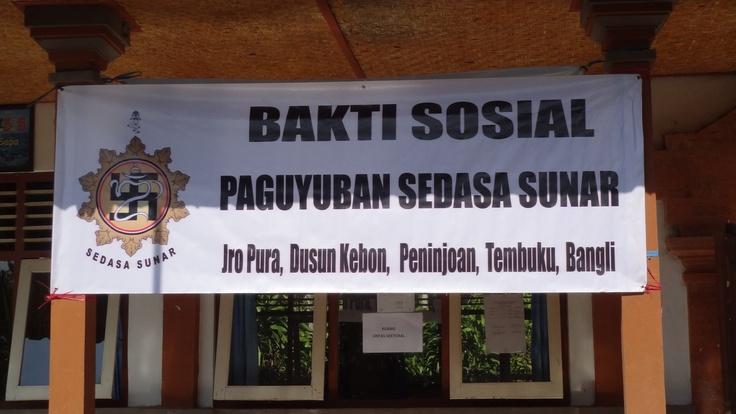 Outreach, op locatie hoortesten afnemen in arme gebieden van Bali.