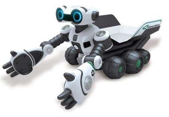 The WowWee Roboscooper Looks Like a Helpful Wall-E #robots #technology trendhunter.com