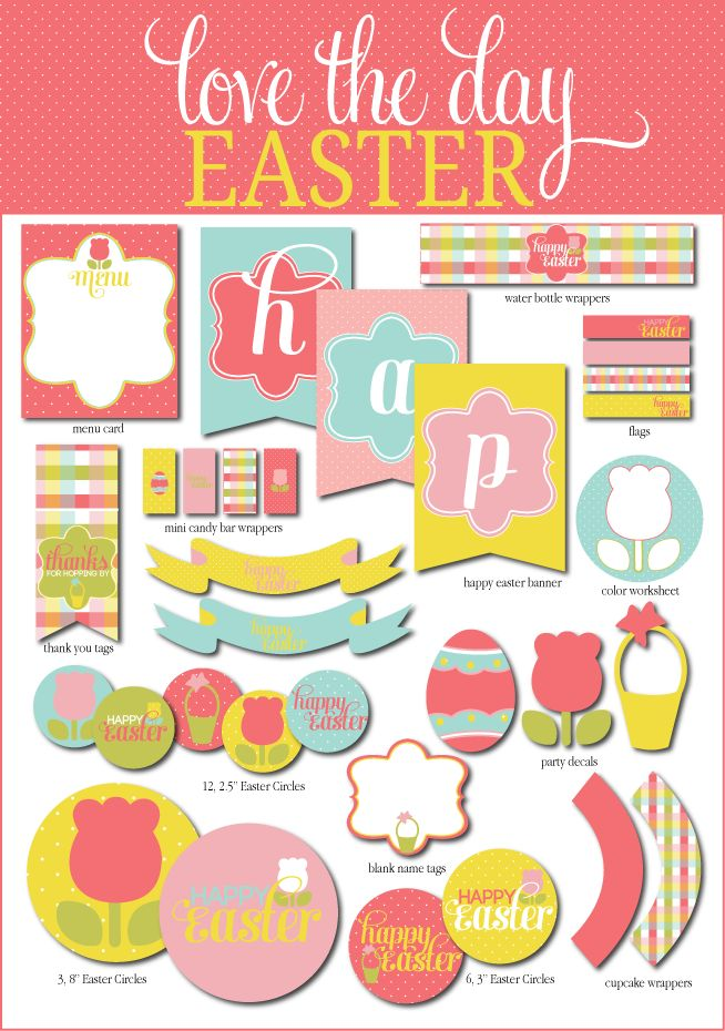 Best Easter  InvitationsPrintables Images On