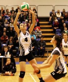 The only cheer louder than the applause for the introduction of Marlborough 15 year-old Jayda Elkington-O'Brien was that reserved at the final whistle when the New Zealand Youth Women's volleyball team beat their Australian counterparts in Blenheim on Thursday night.