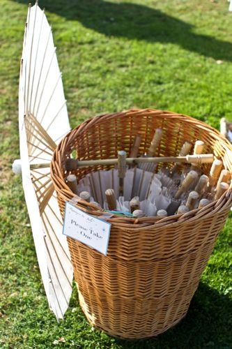 Parasols Wedding Party Favors
