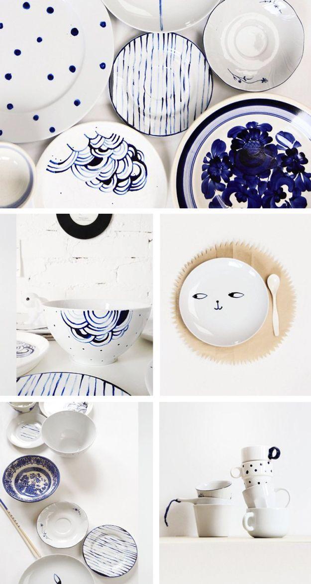 Non il solito piatto_ #blu #dishes #homemade #ikea