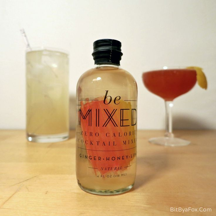 'Be Mixed' Cocktail Mixers - Your New Secret Boozy Weapon