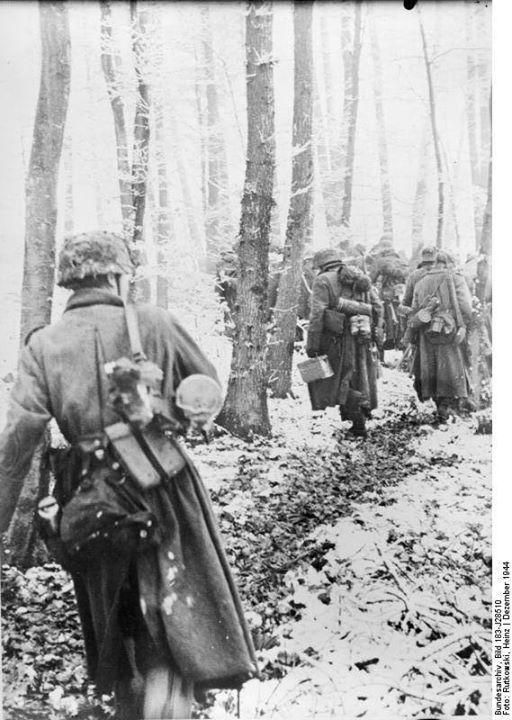 Image result for german soldier with grenade in the ardennes