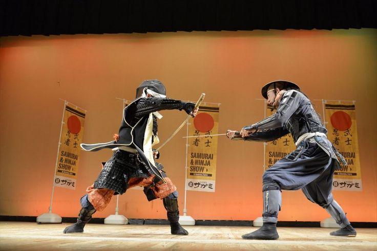 Epic swordfight