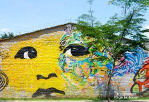 Sunday Snap: Graffiti in Medellin  http://trotamunda.wordpress.com/2013/09/29/sunday-snap-graffiti-in-medellin/