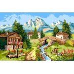 Peisaj alpin (imprimat)