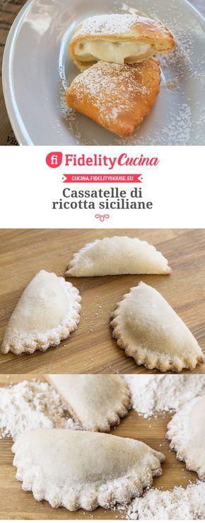 Cassatelle di ricotta siciliane