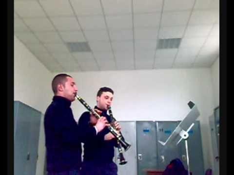"""Completamente """"Pazzi"""" questi 2 clarinetti. Medley preparato in 10 minuti"""