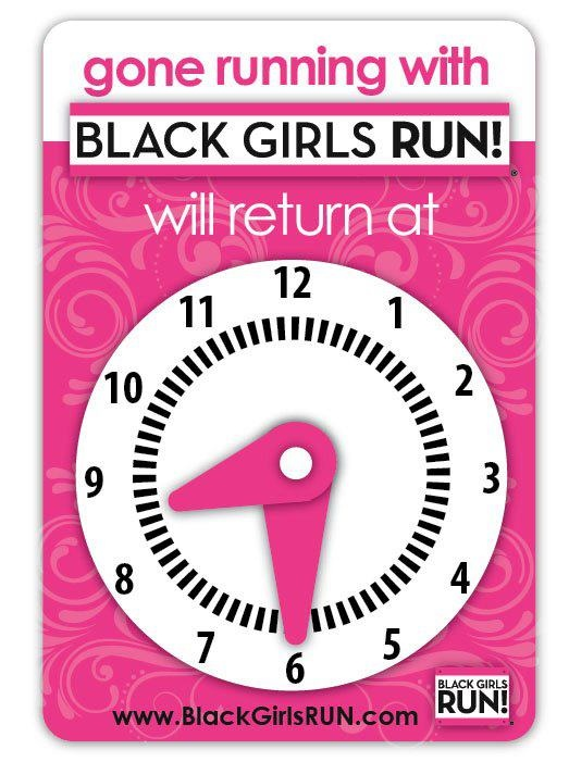 "Black Girls RUN Colorado.  A great program for ""young"" girls!"