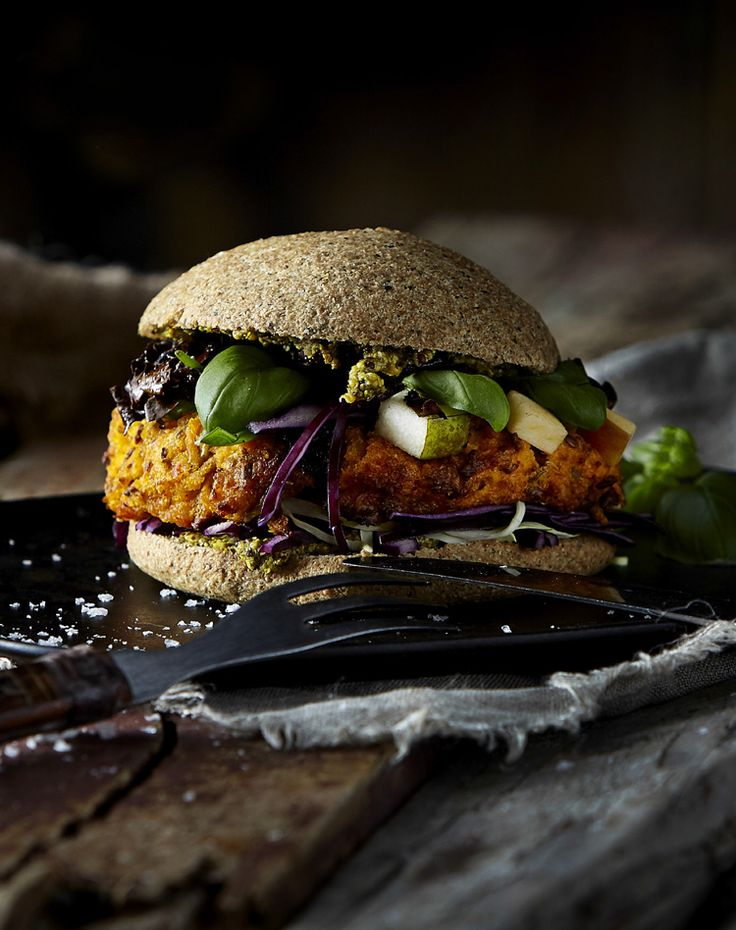 Vegetarburger    Nordisk Tang