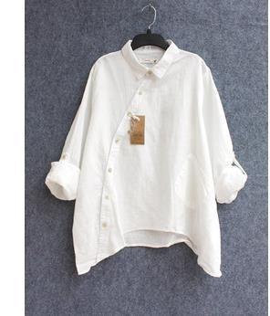 2015 Новое поступление рубашки женщины Хлопок белье blusas белая рубашка для женской одежды