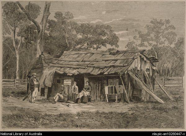 surgeon's hut in the bush