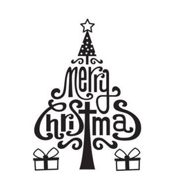 Embossing folder Albero di Natale