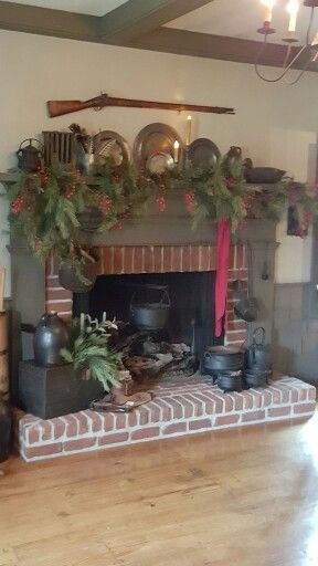 gathering room fireplace