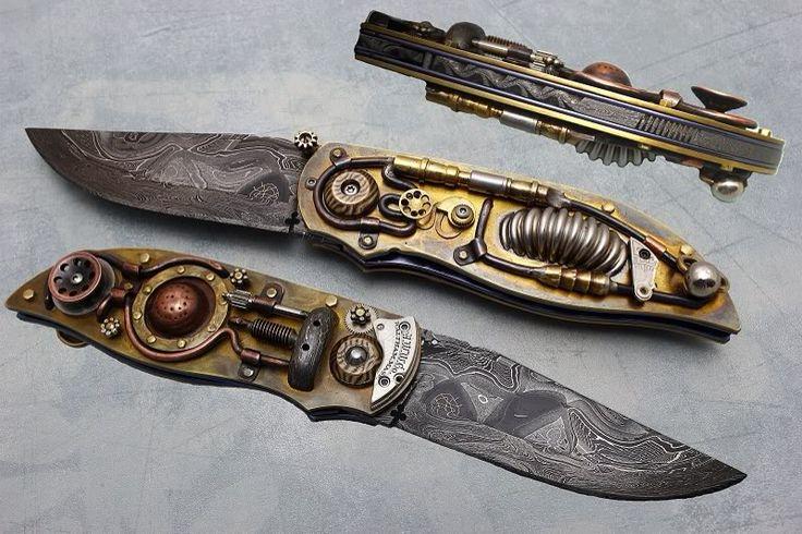 Steampunk Knife