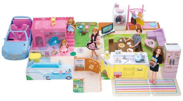 Amazon.co.jp | リカちゃん おしゃべりスマートハウス ゆったりさん 【日本おもちゃ大賞2014 エデュケーショナル・トイ部門 優秀賞】 | おもちゃ 通販