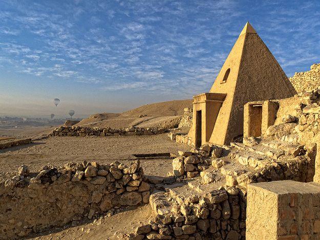 Necrópole de Tebas – Deir el-Medina  Egito
