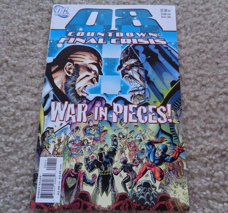 DC Comics Countdown to Final Crisis #8 March 5, 2008