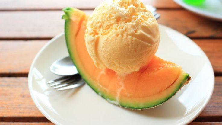 Varomeando: Helado de melón