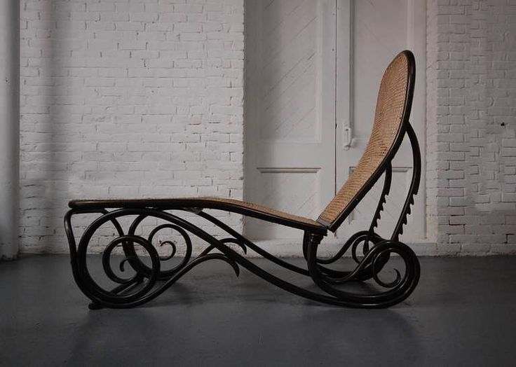 1000 images about mecedoras de todos los estilos on for Art nouveau chaise lounge