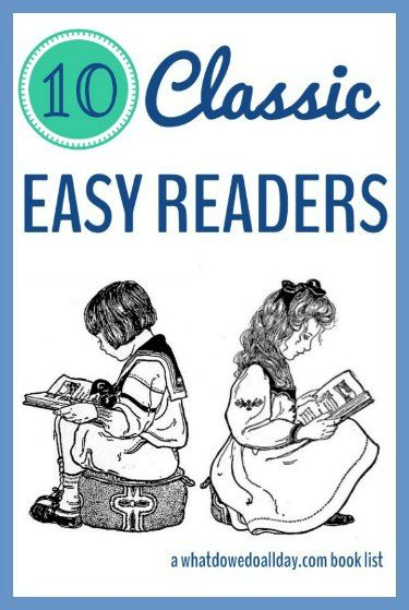 Classic books for beginning readers.