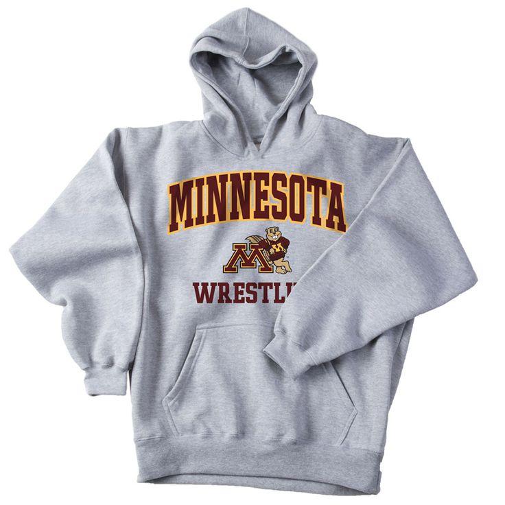 J America University of Minnesota Wrestling Hoodie