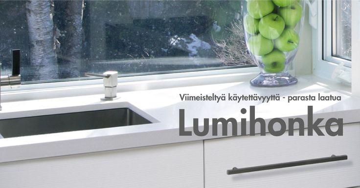 Domus Lumihonka -keittiö