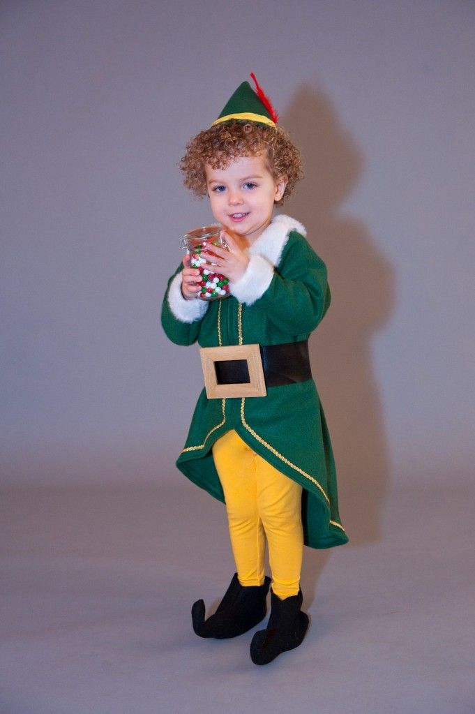 Buddy the Elf costume I made for my son for Christmas card pictures this year.