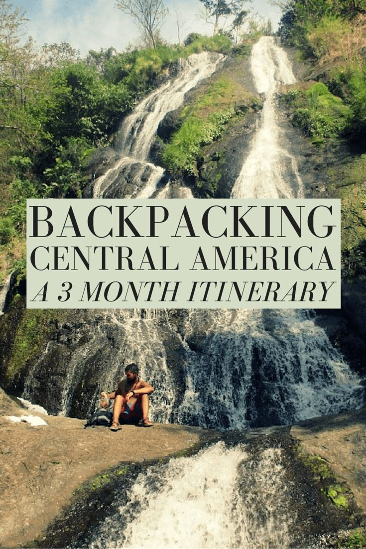 Planning a long term trip can be daunting! If you are backpacking Central America, here is a 3 month itinerary through all 7 countries + hotel recommendations and directions from city to city!: