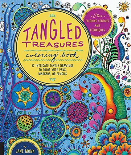 Popular Thrill Murray Coloring Book 99 Tangled Treasures Coloring Book