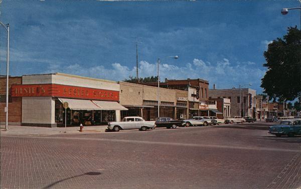 Greetings from Broken Bow Nebraska Postcard