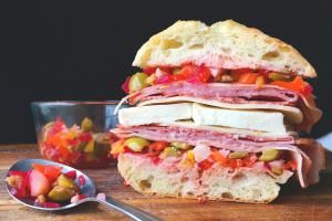 15 Italian Sandwich Recipes That Will Make You Scream Mama Mia!: Muffuletta Sandwich