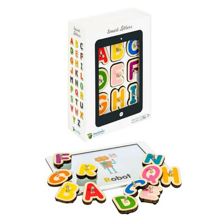 Traditional wooden toys meet the iPad with Marbotic Smart Letters game. Children learn the shapes and sounds of letters and expand their vocabulary whilst having fun - a perfect Christmas present! 🎅 #marbotic #funlearning #christmaspresent @marbotic https://goo.gl/2UKTfa