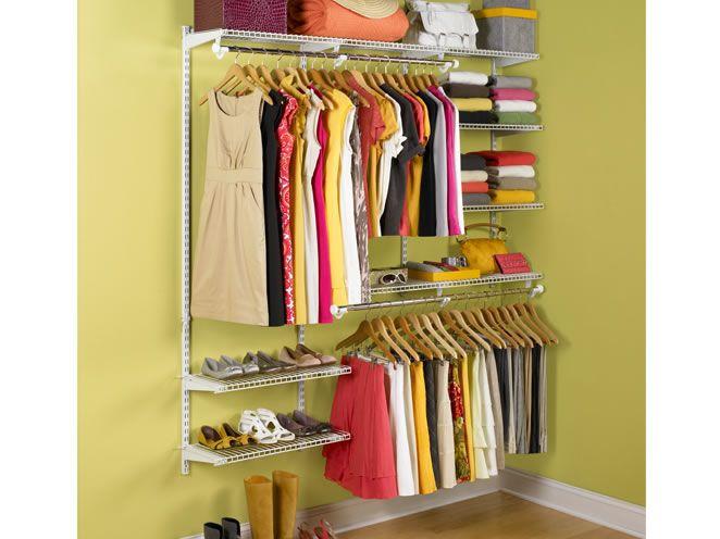 Organize your closet with an expandable closet organizer kit for closets.... #BBYSciencessociales