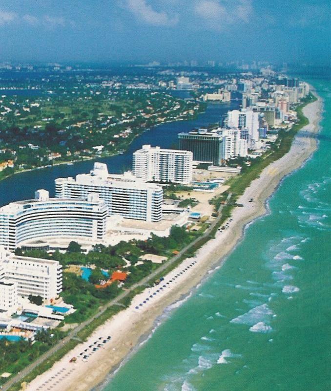 一年を通して快適に過ごせるマイアミビーチ。アメリカ 旅行・観光見所。