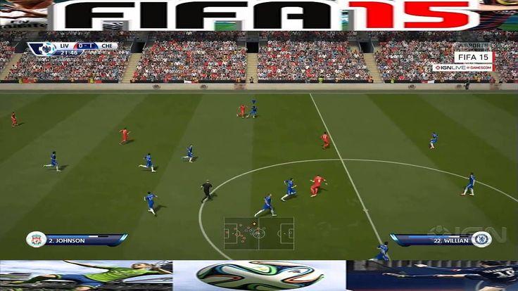 FIFA 15   Liverpool Vs Chelsea  Next Gen Gameplay 1080p