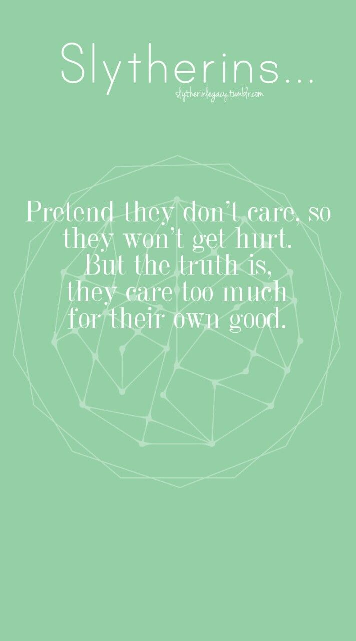 slytherinlegacy:   ◐ Slytherins pretend they don't... - Slytherin Pride