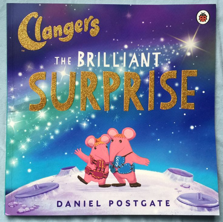 Lovely the @helloclangers The Brilliant Surprise book