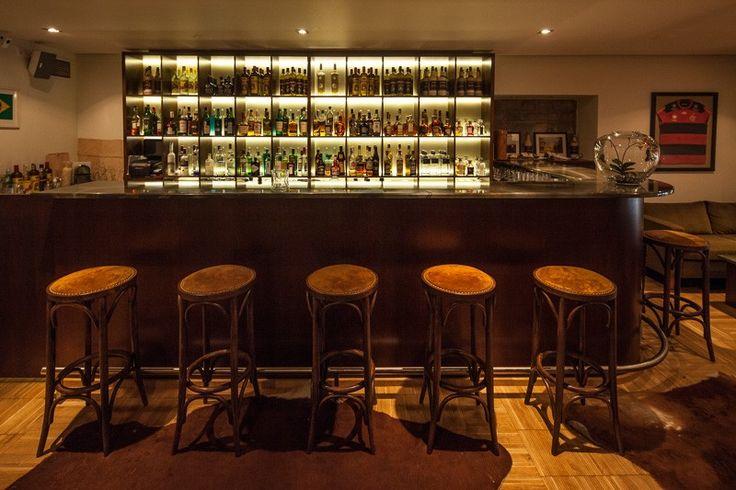 Basic Collection, Casabrasil Budapest #restaurant #furniture #design #interior #contract #casabrasil #budapest #leather #bar #counter #stool photo: Zsolt Batár