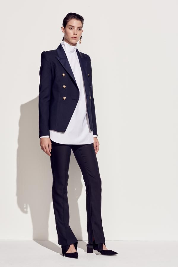 The Mallow Blazer and Sedum Long Sleeve Top by CAMILLA AND MARC from their Resort 2016 Collection.