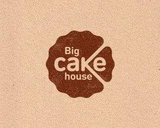 Big Cake House Logo Design